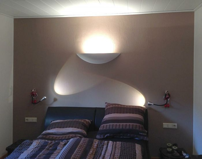 Elegant led indirekte beleuchtung decke dunkeles interior leuchte wandbeleuchtung schlafzimmer
