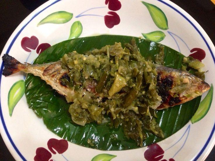 Ikan kembung bakar cabai hijau will double your cup of rice