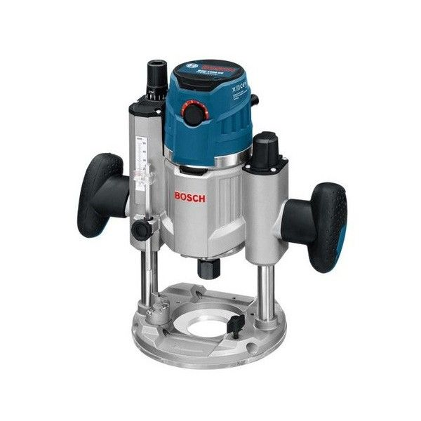 """$449 Bosch Router Plunge Variable Speed 1/4"""" + 1/2"""" GOF1600CE Image"""