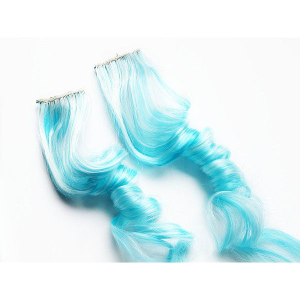 Die besten 25 blue hair extensions ideen auf pinterest ombr 995 liked on polyvore featuring beauty products haircare hair styling tools bath beauty hair care hair extensions light blue pmusecretfo Images