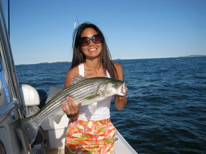 273 best images about female anglers on pinterest sexy for Boston harbor fishing report