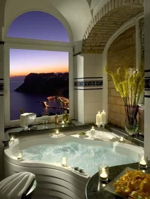 .For my dream home I want this bathroom!  Wow.