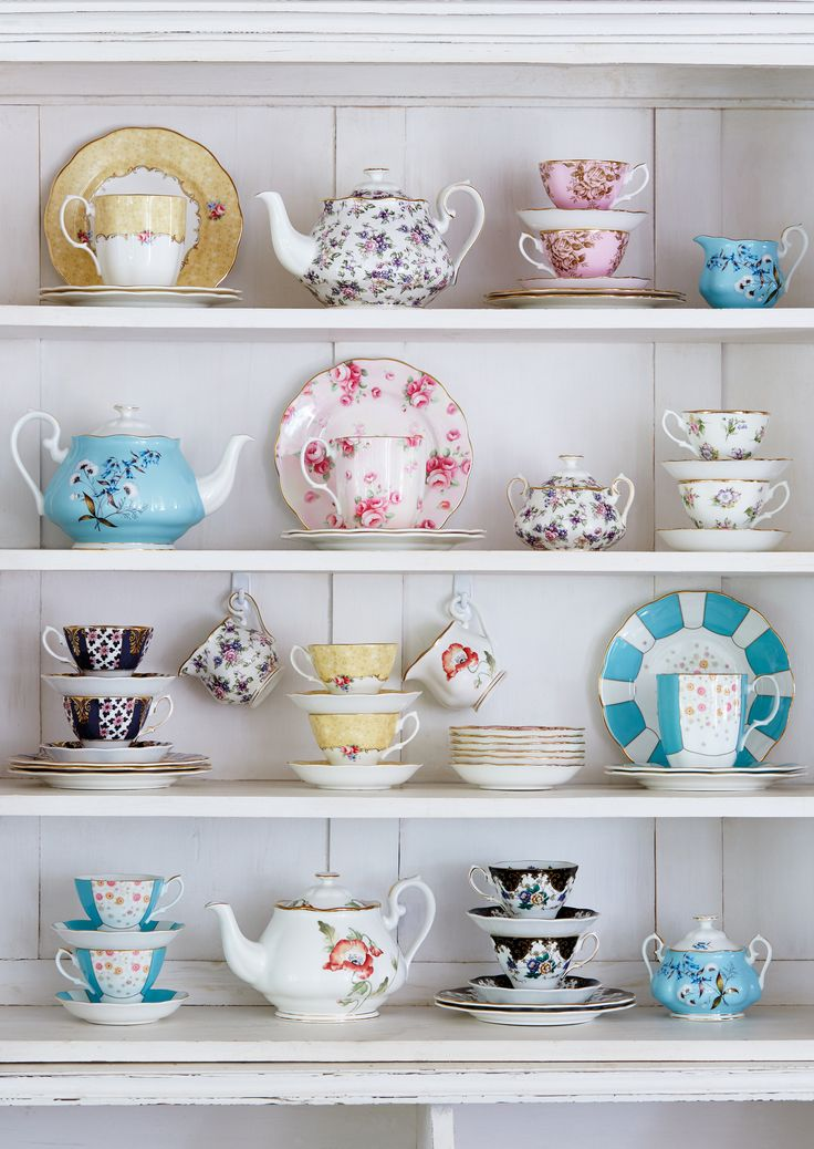 Add a touch of vintage to your home with refreshing new patterns from Royal Albert's iconic 100 Years collection