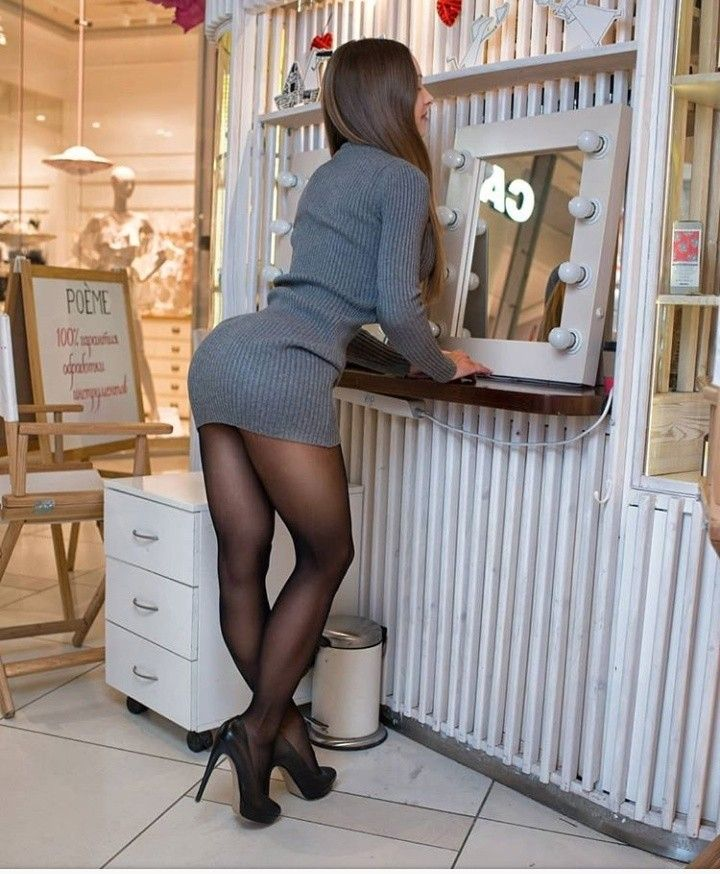 Hot Legs  Hot In 2019  Pantyhose Skirt, Sexy Stockings -9331