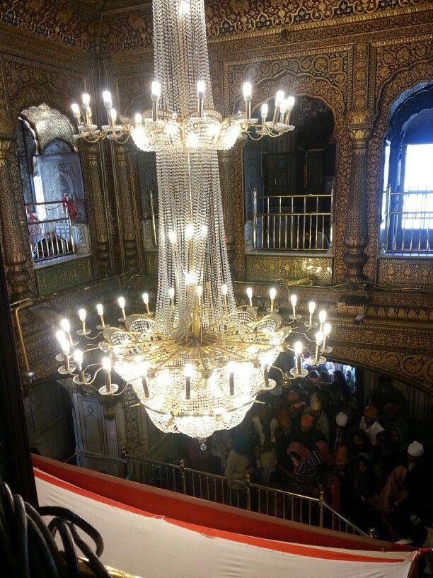 Chandeliers!  Golden temple! Beautiful ♥