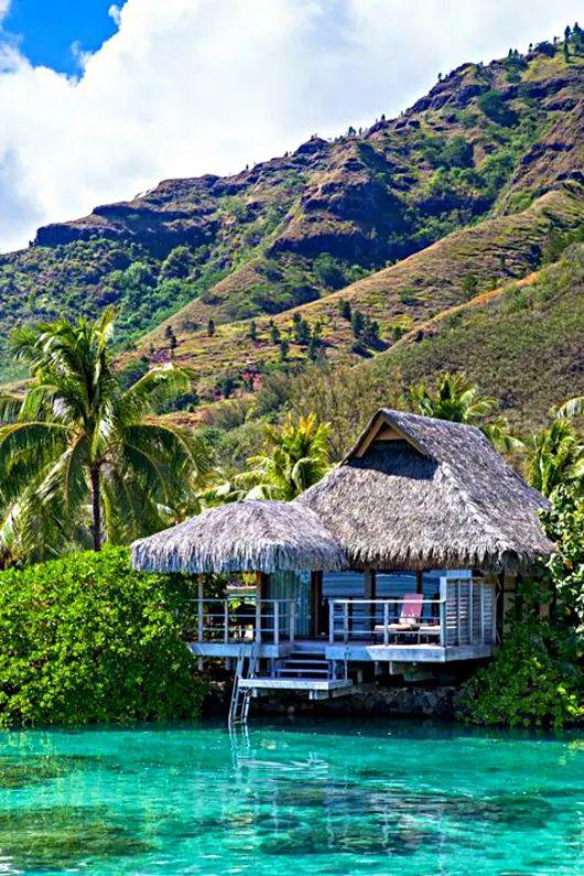 Francia Polinézia - Moorea-sziget