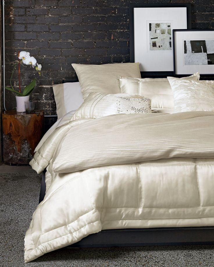 donna karan home reflection bedding u0026 supima cotton sateen sheets find this pin and more on bedroom