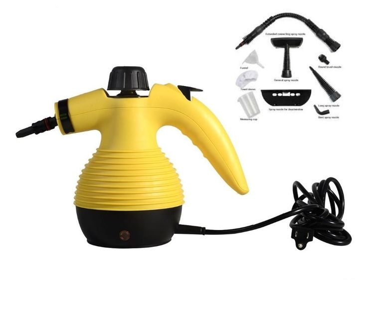 Portable Handheld Electric Steam Cleaner Multi Purpose Home Auto Office Steamer #Unbranded