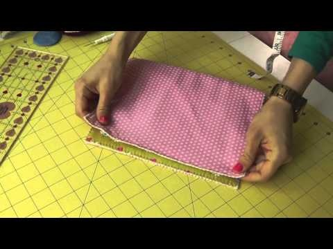 Living the crafts Tutorial Como hacer una valisette. How to make a Valisette.