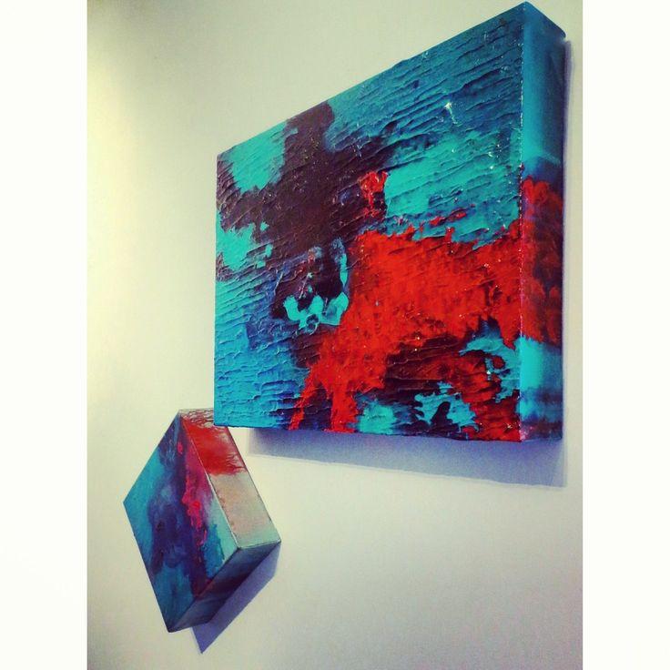 Núcleo Santa Virgínia ~ Rain Forest #art #artseries #gallery #texture #acrylic #inspiration #brazil #toronto #artist #artistic #brianceaucouture