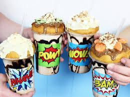 Image result for donut milkshakes