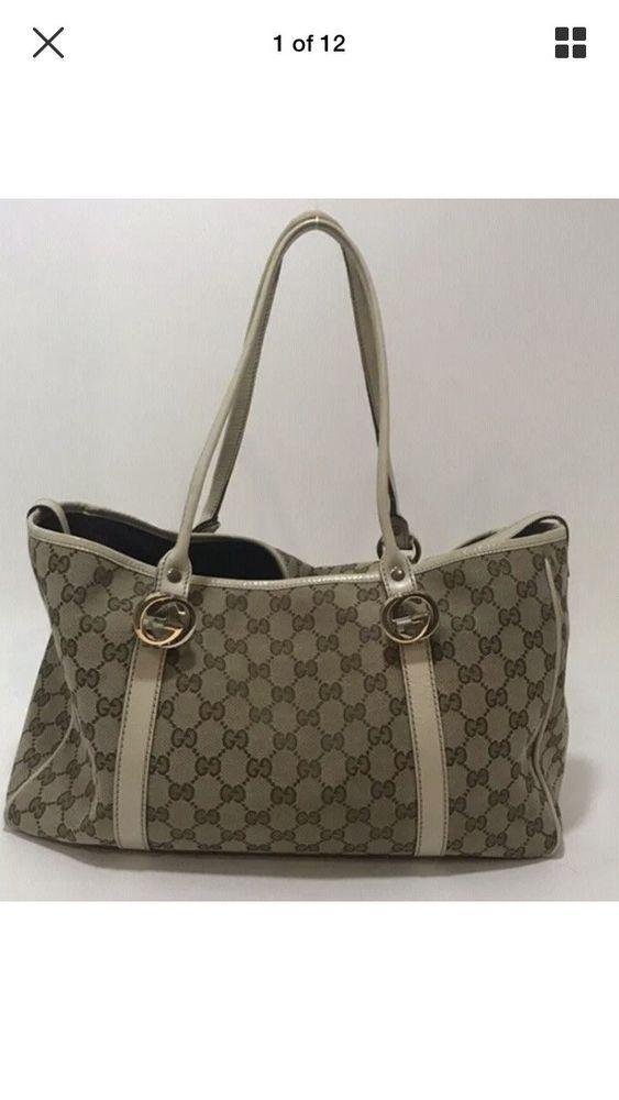 0419aeeb6b1 Gucci handbag authentic used  fashion  clothing  shoes  accessories   womensbagshandbags (ebay