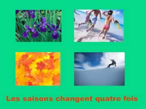 Les saisons, Jacquot  Les saison changent quatre fois  (The seasons change four times)