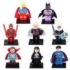Super Heros Minifigures x8 Set Dr Strange Batman Supergirl Punisher Fits LEGO