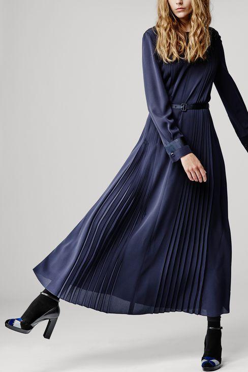 RUNWAY LONG DRESS IN SABLÉ: Dresses Women by Armani - 2