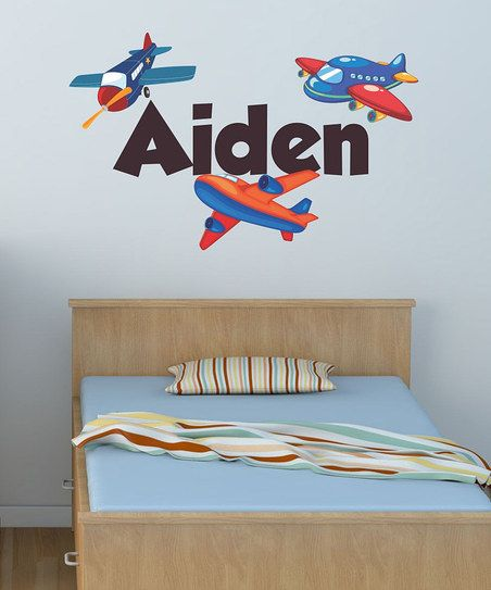 Planes Personalized Wall Decal Set