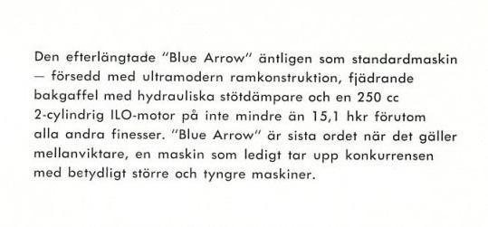 Informace om Monark modré šipky - Experten