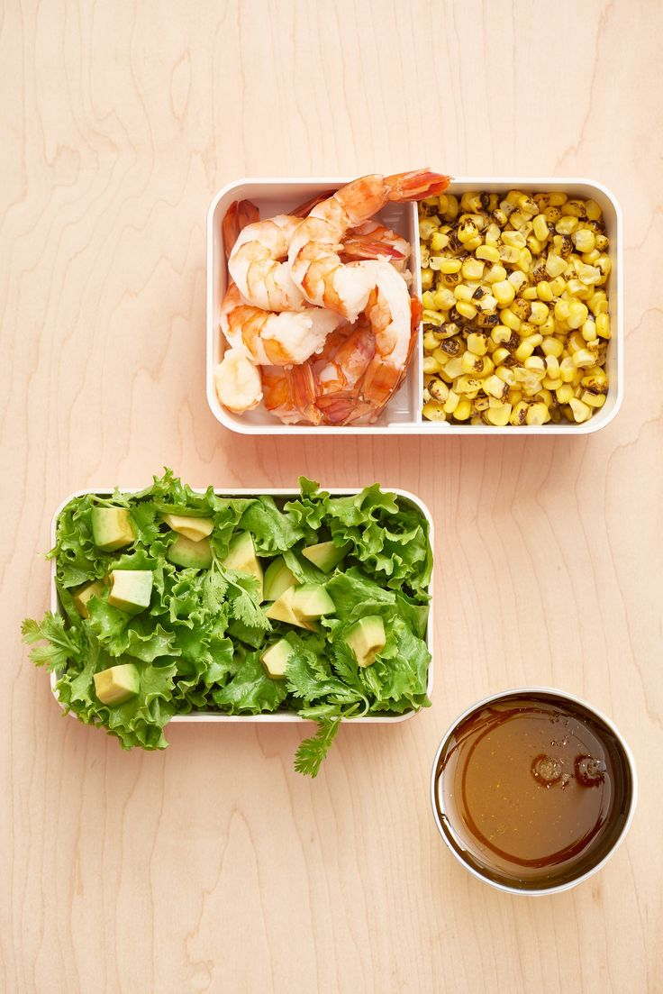 Salad Swag: DIY Southwestern Shrimp Salad Kit — Lunch Snack Packs