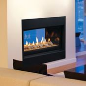 Multi Sided Fireplaces | WoodlandDirect.com: Fireplace Units, See-Thru Fireplaces, Peninsula Fireplaces