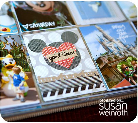 #scrapbooking #disney  susan weinroth blog