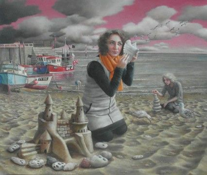 'Beachcombers' by Sally Moore