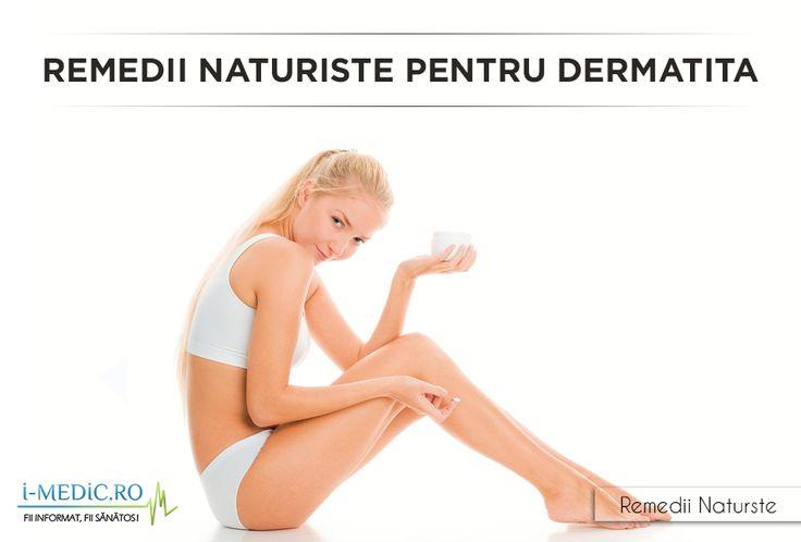 Dermatita este un termen folosit pentru a denumi orice tip de inflamatie cutanata. In acest fel, medicii specialisti au distins intre urmatoarele tipuri de dermatita: dermatita atopica, dermatita numulara, dermatita seboreica, dermatita de contact, dermatita iritativa, dermatita alergica. http://www.i-medic.ro/remedii/remedii-naturiste-pentru-dermatita