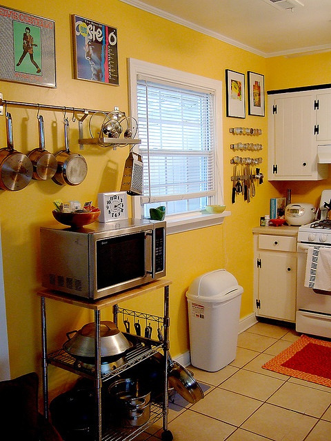 terrific blue yellow kitchen decor | 87 best Red/Yellow/Blue kitchen images on Pinterest | Home ...