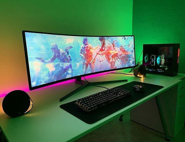 Ultawide screen Yes or No? Gamers Discord server link in bio Follow @setupwarriors  Follow @setupwarriors   Owner: unknown dm for credit  #gamer #gami…