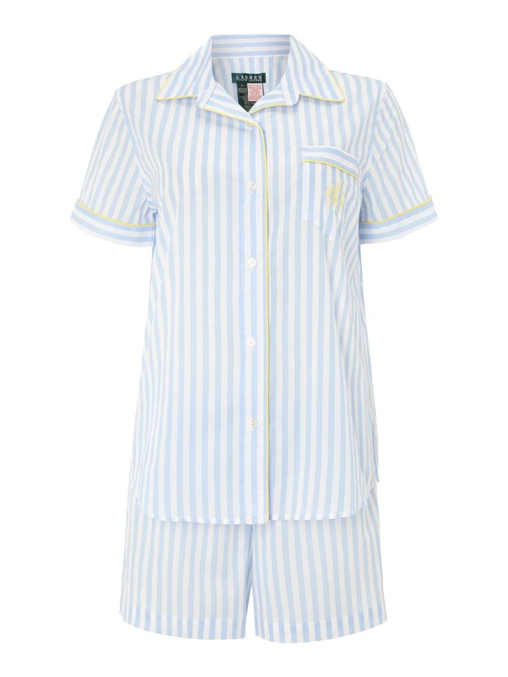 Lauren by Ralph Lauren Short Sleeve PJ Set - £59.50Ralph Lauren, Retail Therapy, Sands Shorts, Pink Sands, Lauren Shorts, Shorts Sleeve, Boxers Pj, Sleeve Boxers, Summer Holiday