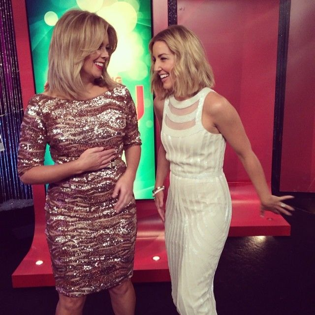 Samantha Armytage in Montique for Bringing Sexy Back #channel7 #style #fashion #montique