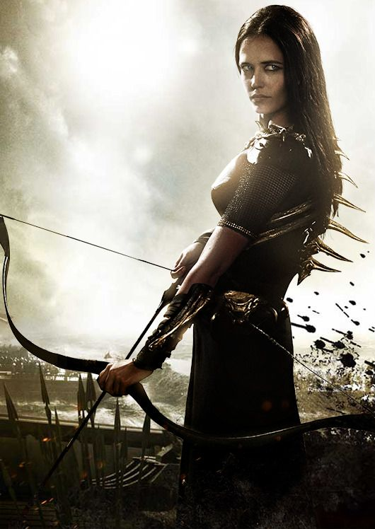 admiral artemisia portrayed by eva green in 300 rise of