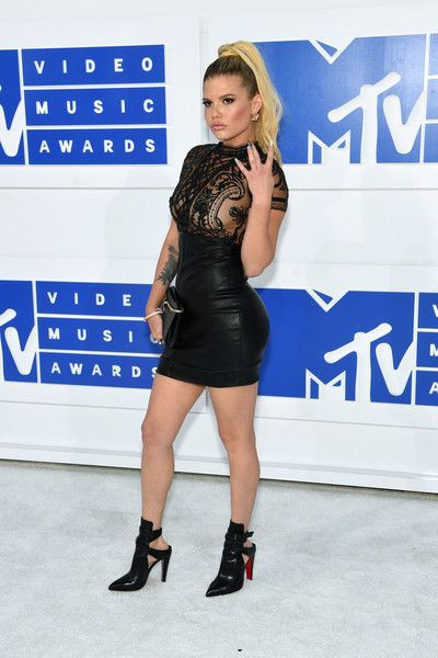 Chanel West Coast in Black Leather - Best Dressed at the 2016 MTV VMAs - Photos