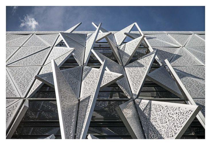 Campus-Neubau von Henning Larsen in Dänemark / Das Prinzip Dreieck - Architektur und Architekten - News / Meldungen / Nachrichten - BauNetz.de