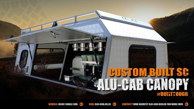 Alu-Cab's Custom built single cab canopy