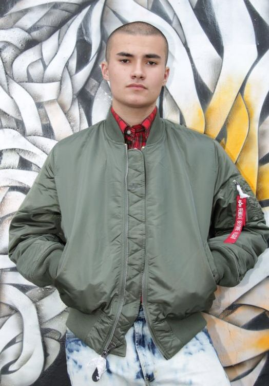 Alpha Industries Sage Green AI Jacket | Threads ...