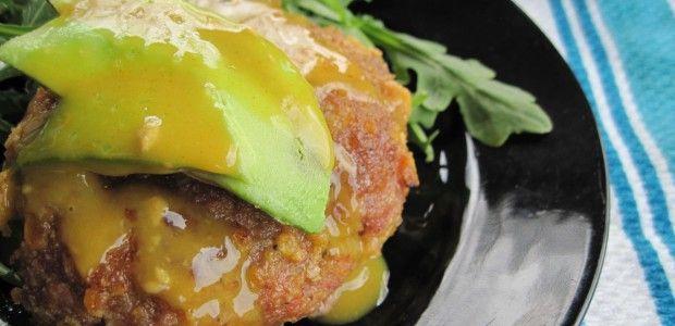 Honey Mustard Cuban Pork Burgers