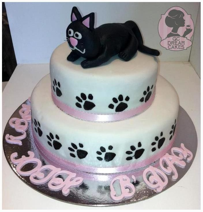 Amazing Birthday Cakes For Cats