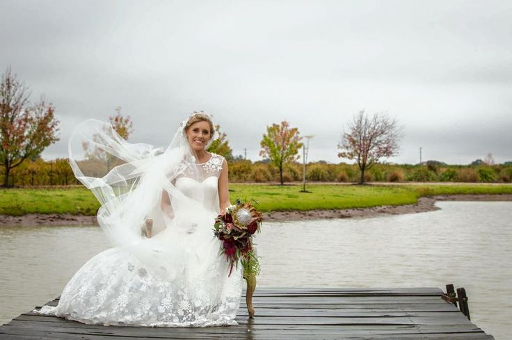 Heidi gown by Mariana Hardwick REAL BRIDE