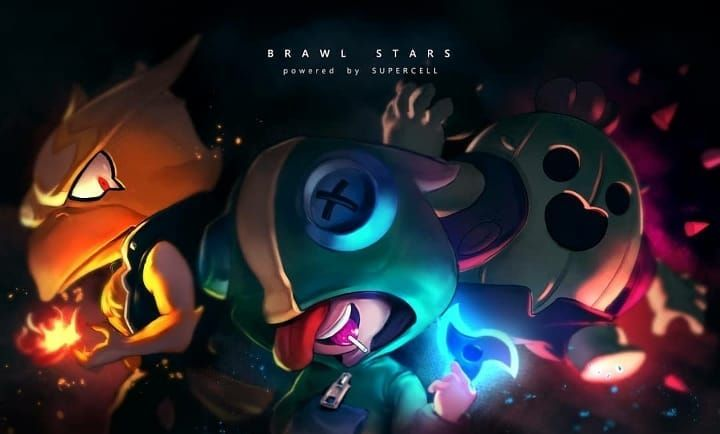 Brawl Stars Fan Art Los Tres Legendarios Crow Spike Leon Buscar