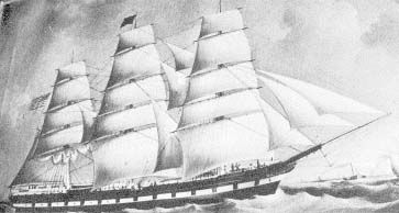 Scandinavian Emigrant Ships - Maren Kirstine Olsen came on this ship in May 1860