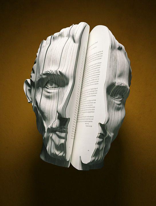 Written Portraits by Souverein , via Behance Twitter:@CastelanOficial