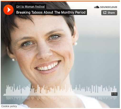 Women's health practitioner and Girl to Woman Festival Presenter, on breaking the taboos about the monthly period.