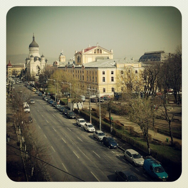 Cluj. office view