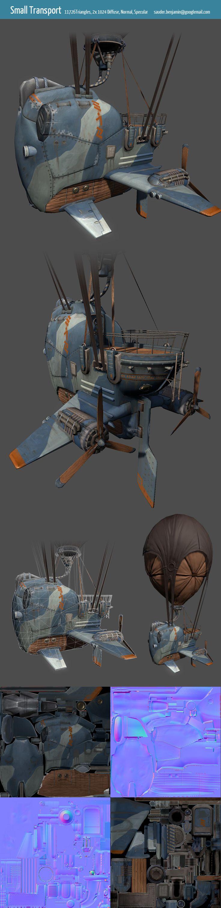 Scifi Aircraft - Benjamin Sauder - Airborn