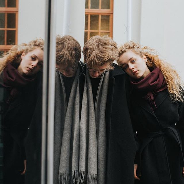Couple up in Arne Jacket and Karen Coat, and add Copenhagen Scarf in your favorite color. (Link in bio)