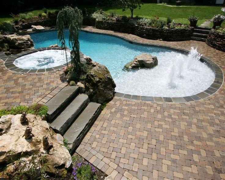 Gunite Pools Natural Pool Ideas Pinterest Beautiful Gunite Pool And Colors