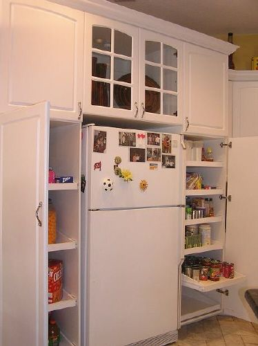 how to build a built in pantry