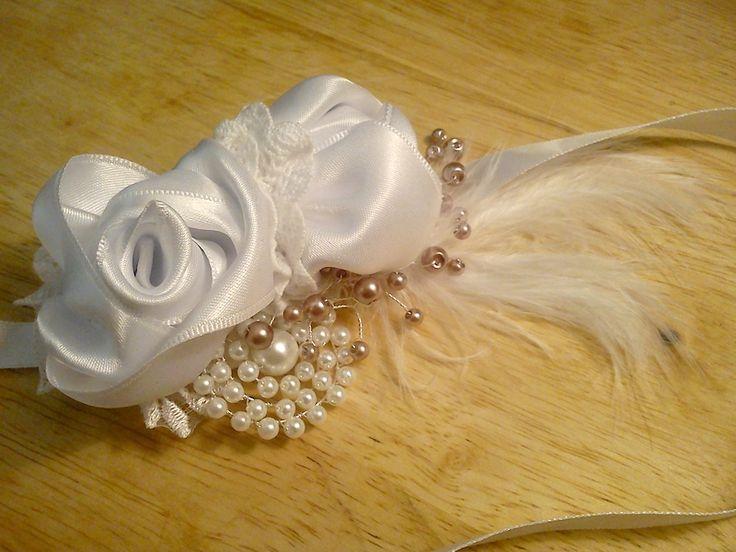 Svadobná ruža čelenka | Zobra...