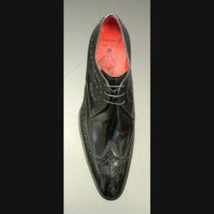 Jeffery West Brilleaux Black Brogue Shoes Australia