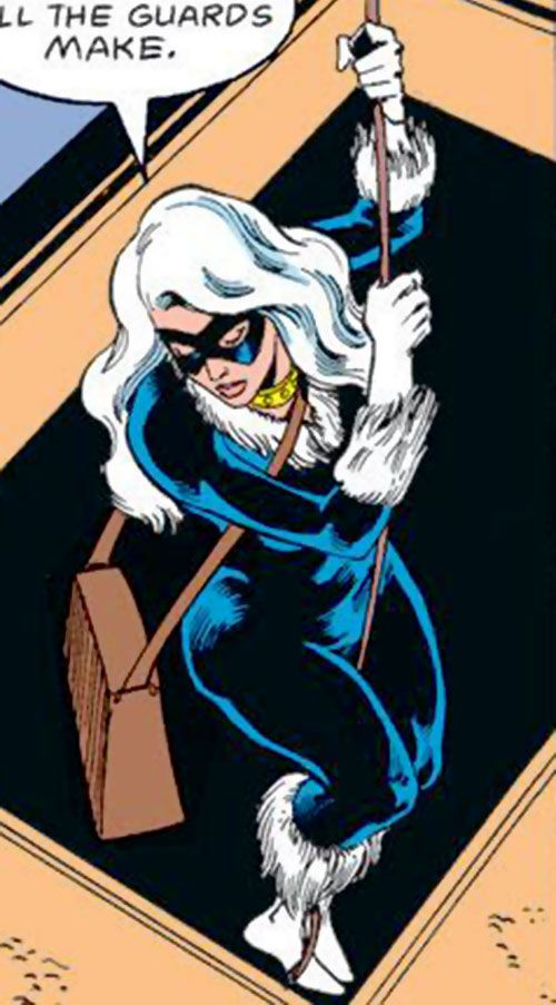 how to draw black cat marvel